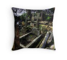 Lansdown cemetery Throw Pillow