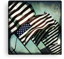 Stars 'n' Stripes Canvas Print