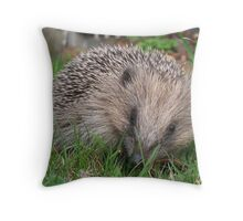 Small but brave Throw Pillow