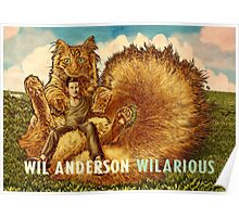 Wil Anderson WILARIOUS landscape Poster