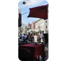 Small Cafe in San Diego iPhone Case/Skin