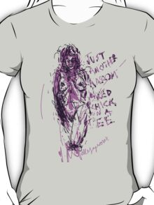 'Just another Random Naked Chick on a Tee' T-Shirt