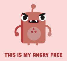 This is my Angry Face by tofusan