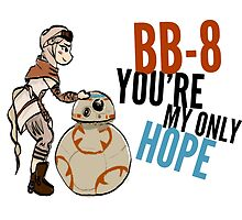 BB-8 You're my Only Hope by leahkatewrite