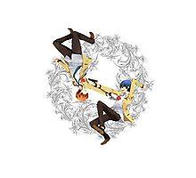 Angel Beats - Yuzuru Otonashi & Hideki Hinata Photographic Print