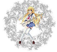Angel Beats - Shiori Sekine by IzayaUke