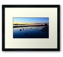 Monaco Sunset Framed Print