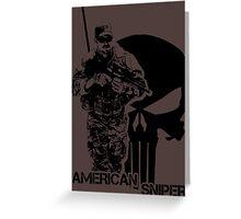 Chris Kyle - American Sniper Greeting Card