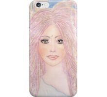 Angel of purity iPhone Case/Skin