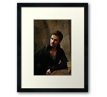Killian Jones aka Captain Hook Framed Print