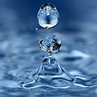 Water Droplet by Michael Boniwell