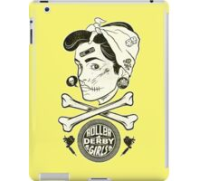 Zombie Roller Derby Girls iPad Case/Skin