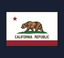 Bear Flag, Californian Flag, Flag of California, California Republic,  State flags of America, USA by TOM HILL - Designer