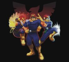 Show Me Your Moves, Captain Falcon!  by Skytch