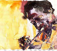 Jazz Miles Davis 6 by Yuriy Shevchuk