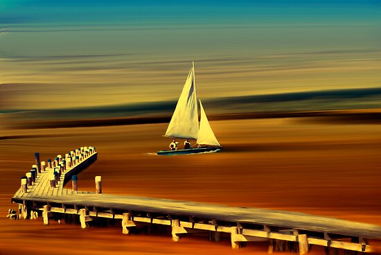 Looks like sailing by Kurt  Tutschek