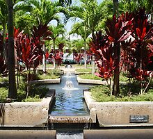 Pearl Harbor Garden by traveler25