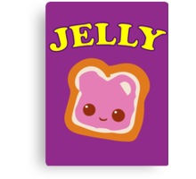 Couple - (Peanut Butter &) Jelly Canvas Print