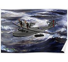 A Saro Cloud A29 of the Royal Air Force - all products except duvet Poster