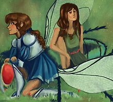 cosette and eponine fantasy au by clenster