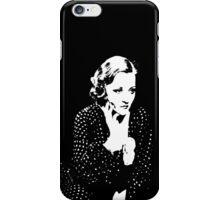 Tallulah Bankhead In Polka Dots iPhone Case/Skin