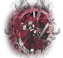 Kuroshitsuji (Black Butler) - Grell Sutcliff and Madame Red by IzayaUke