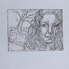 """movining on """"etching"""" by Leanne Inwood"""