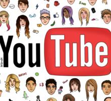 Youtuber Heads Sticker