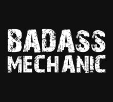 Badass Mechanic T-shirt by musthavetshirts