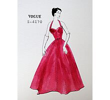 Vogue 1950s Photographic Print
