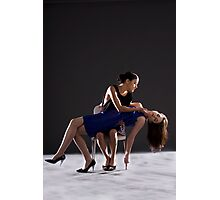 Modelling Shot of Kristina and Chloe Jane Photographic Print