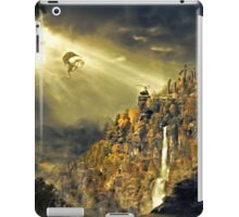 Dragon against man iPad Case/Skin