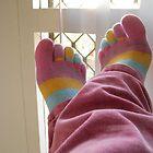 Toe Socks by Lunchbox