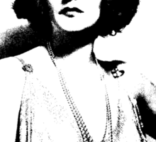 Tallulah Bankhead Is Sophisticated Sticker