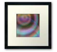 Colorful swirl abstract Framed Print