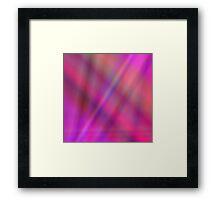Shades of magenta Framed Print