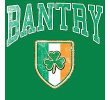 Bantry, Ireland with Shamrock Photographic Print