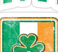 Bantry, Ireland with Shamrock Sticker
