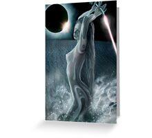 Moon Dust Greeting Card