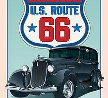 Historic Route 66 by HendersonGDI