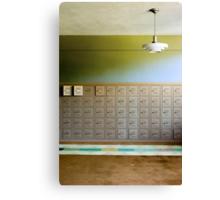 lockers Canvas Print