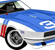 Datsun 240Z competition  by car2oonz