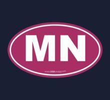 Minnesota MN Euro Oval PINK Kids Clothes