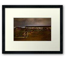 Port Authority Destruction (D) Framed Print