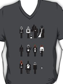 Doctor Who - companions recognition guide T-Shirt
