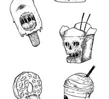 Monster Food: Flash sheet by Xviii
