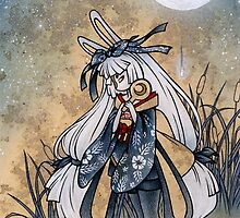 Miri & the Golden Flower - Usagi Moon Rabbit by TeaKitsune