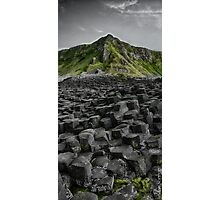 Causeway in Green Photographic Print