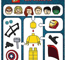 LEGO Avengers Assemble by mellowmind