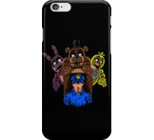 Surviving five nights of work iPhone Case/Skin